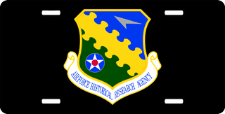 U.S. Air Force Historical Research Agency License Plate