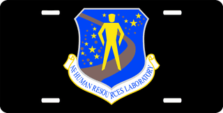 U.S. Air Force Human Resources Laboratory License Plate