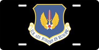 U.S. Air Force In Europe Command License Plate