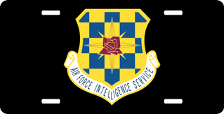 U.S. Air Force Intelligence Service License Plate