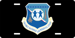 U.S. Air Force Manpower And Personnel Center License Plate