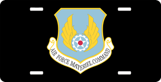 U.S. Air Force Material Command License Plate