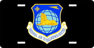 U.S. Air Force National Air Intelligence Center License Plate
