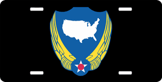 U.S. Air Force National Guard License Plate