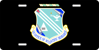 U.S. Air Force Office Of Scientific Research License Plate