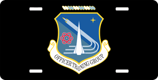 U.S. Air Force Officer Training School License Plate
