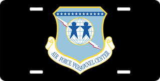 U.S. Air Force Personnel Center License Plate
