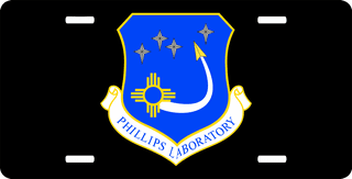U.S. Air Force Phillips Laboratory License Plate