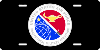 U.S. Air Force Professional Military Education License Plate