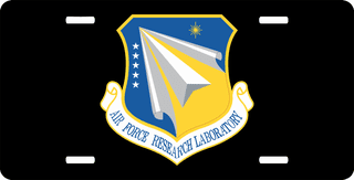 U.S. Air Force Research Laboratory License Plate