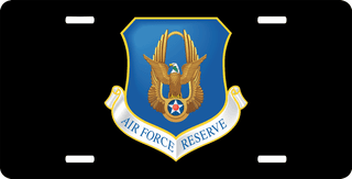U.S. Air Force Reserve Command License Plate