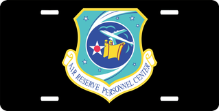 U.S. Air Force Reserve Personnel Center License Plate