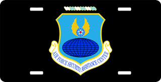 U.S. Air Force Security Assistance Center License Plate