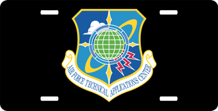 U.S. Air Force Technical Applications License Plate