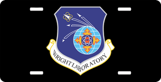 U.S. Air Force Wright Laboratory License Plate