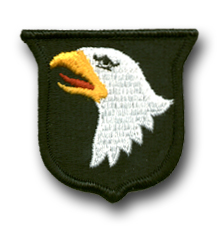 """U.S. Army 101st AIRBORNE DIVISION 2 3/8"""" MILITARY PATCH"""