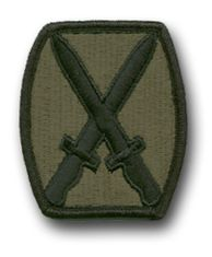 U.S. Army '10th MOUNTAIN DIVISION' SUBDUED 2½