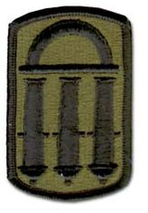 U.S. Army 118TH FIELD ARTILLERY BRIGADE SUBDUED 2½