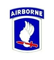 U.S. Army 173rd Airborne Lapel Hat Pin