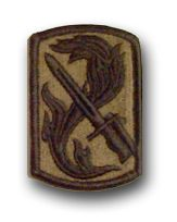 U.S. Army 198th INFANTRY BRIGADE SUBDUED 3