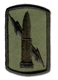 """U.S. Army 224TH FIELD ARTILLERY BRIGADE SUBDUED 3"""" MILITARY PATCH"""