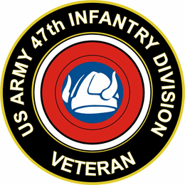 U.S. Army 47th Infantry Division Veteran Sticker Decal