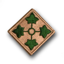 U.S. Army 4th INFANTRY DIVISION 2¼
