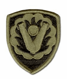 """U.S. Army 59TH ORDINANCE BRIGADE SUBDUED 3"""" MILITARY PATCH"""