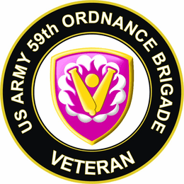 U.S. Army 59th Ordnance Brigade Veteran Sticker Decal
