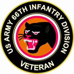 U.S. Army 66th Infantry Division Veteran Sticker Decal