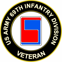 U.S. Army 69th Infantry Division Veteran Sticker Decal