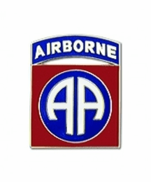 U.S. Army 82nd Airborne Division Lapel Hat Pin