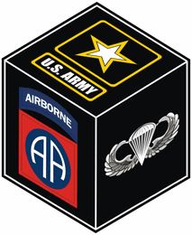 U.S. Army 82nd Airborne Division with Parawings Decal