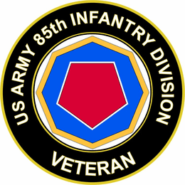 U.S. Army 85th Infantry Division Veteran Sticker Decal