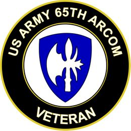 U.S. Army ARCOM Veteran Sticker Decal