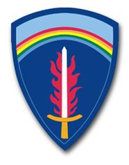 U.S. Army Europe Command Patch Vinyl Transfer Decal
