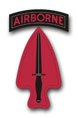 U.S. Army Special Operations Command Patch Vinyl Transfer Decal