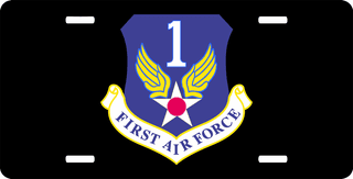 US First Air Force License Plate
