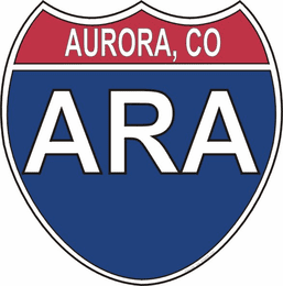 US Interstate Sticker Aurora Colorado