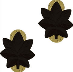 U.S. Navy Commander Black Metal Rank Insignia