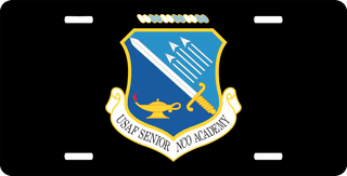 US United States Air Force Senior NCO Academy License Plate