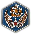 USAF 6th Air Force Lapel Hat Pin