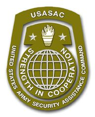 USASAC Patch Vinyl Transfer Decal
