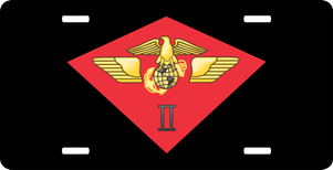 USMC 2nd Marine Air Wing License Plate