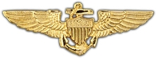 U.S.M.C. Aviator Badge 2.5""
