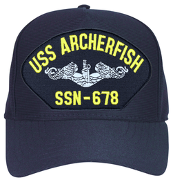 USS Archerfish SSN-678 ( Silver Dolphins ) Submarine Enlisted Cap