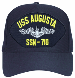 USS Augusta SSN-710 ( Silver Dolphins ) Submarine Enlisted Cap