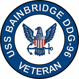 USS Bainbridge DDG-96 Veteran Decal Sticker