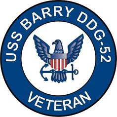 USS Barry DDG-52 Veteran Decal Sticker
