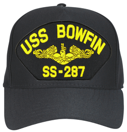 USS Bowfin SS-287 ( Gold Dolphin ) Submarine Officers Cap